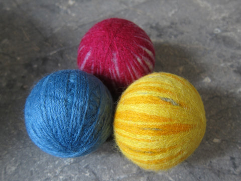 Dryer Balls - Wool - Pack of 3