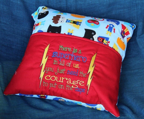 Book Pillow-Superhero