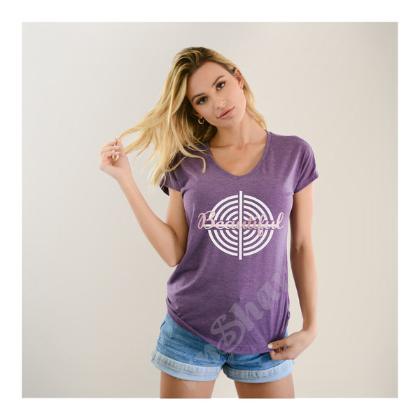V-Neck Tee Beautiful Target