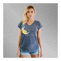 V-Neck Tee Under The Same Moon