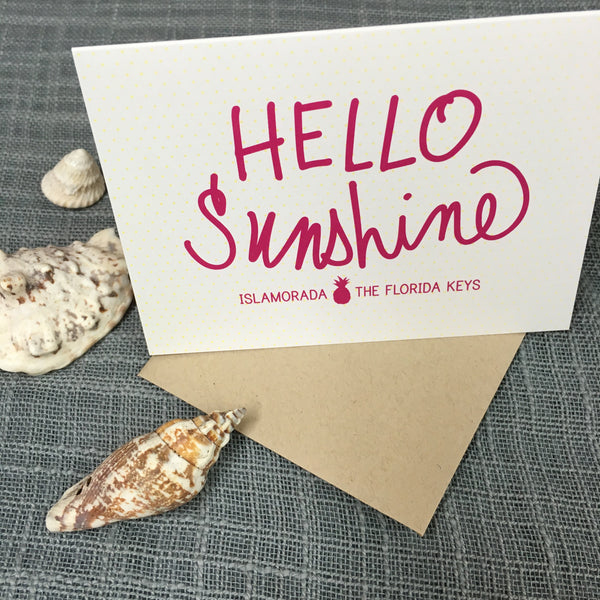 Florida Keys Greeting Card