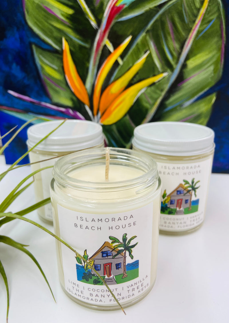 Islamorada Beach House Candle