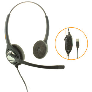 Agent 402 NC  Stereo USB Headset