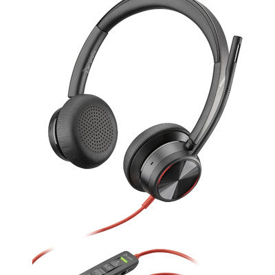 Poly Blackwire 8225-M USB-A Headset - Skype for Business