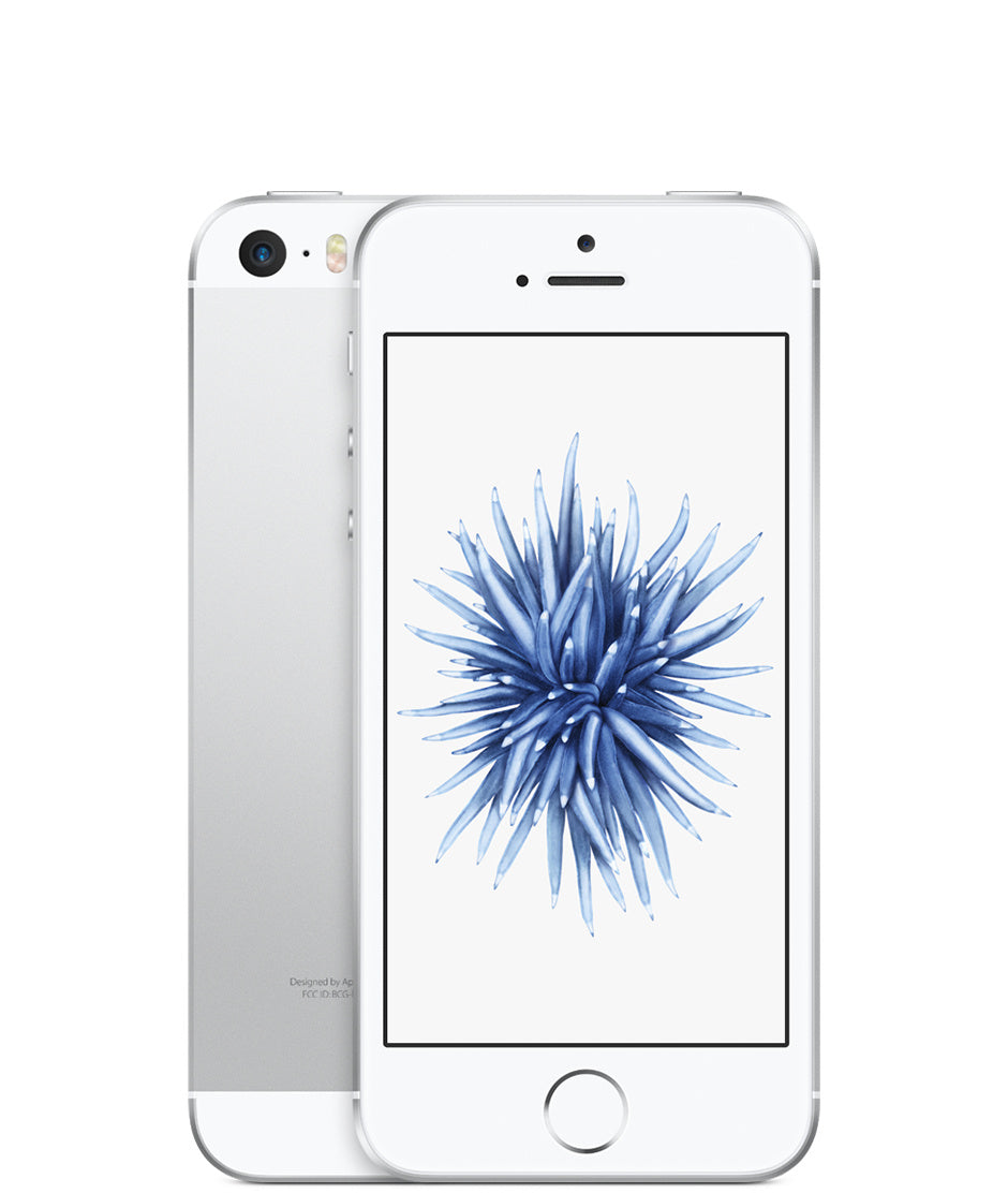 Refurbished Apple iPhone SE 64GB-Silver-Als nieuw