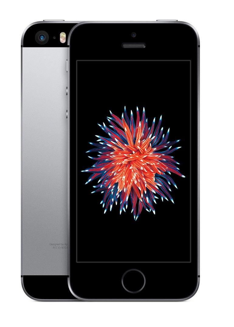 Refurbished Apple iPhone SE 64GB-Space Grey-Als nieuw