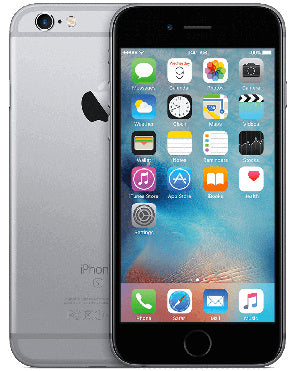 Refurbished Apple iPhone 6S 16GB-Space Grey-Zichtbaar gebruikt