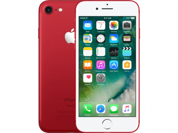 Refurbished Apple iPhone 7 128GB-Red-Als nieuw