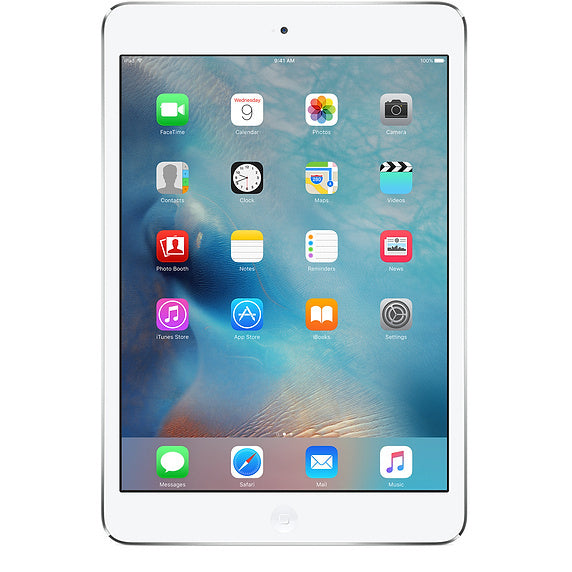 Refurbished Apple iPad Mini 2 16GB Wifi + 4G-Silver-Licht gebruikt