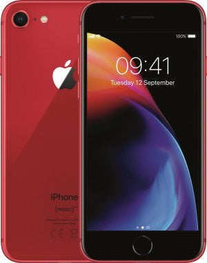 Refurbished Apple iPhone 8 64GB-Red-Zichtbaar gebruikt