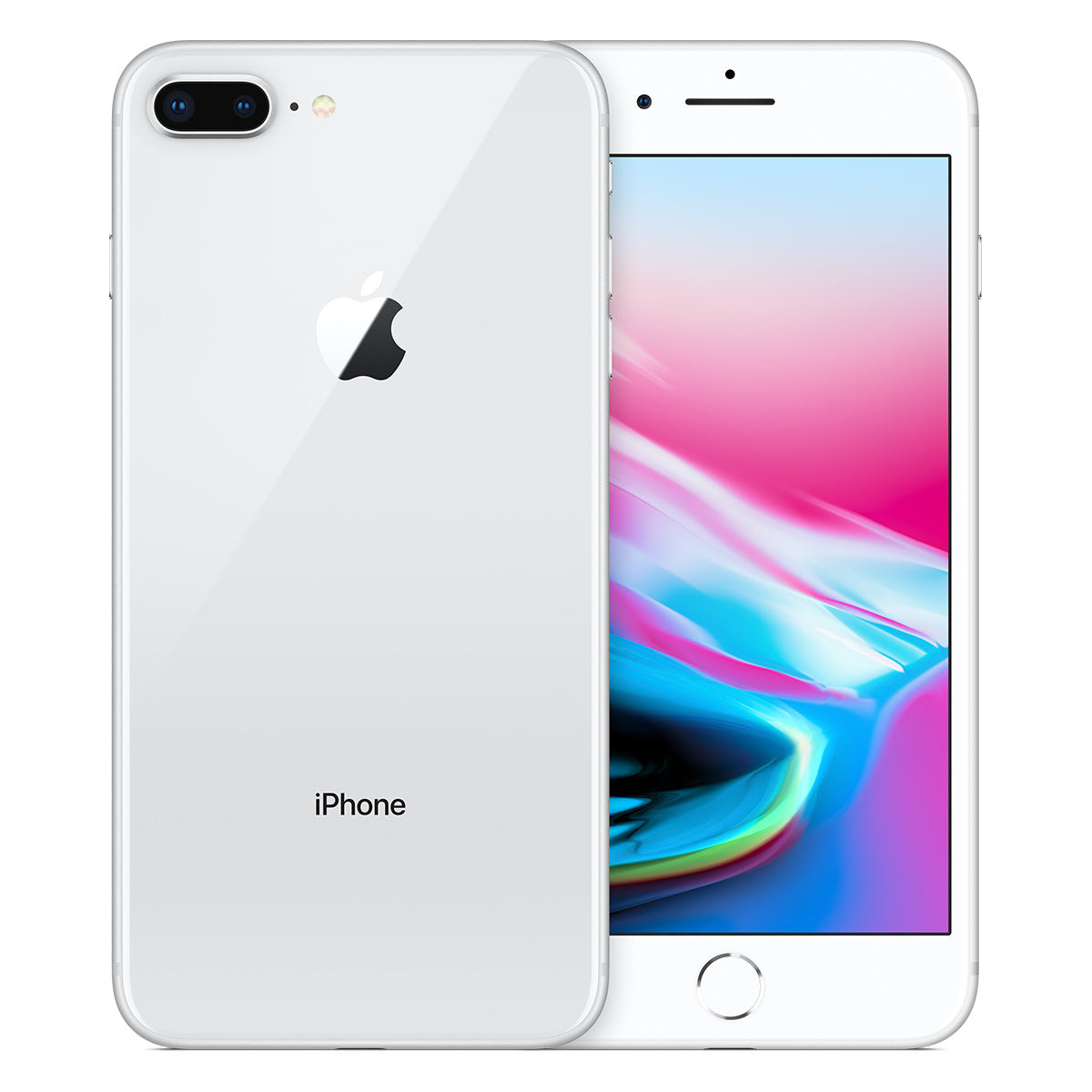 Refurbished Apple iPhone 8 Plus 64GB-Silver-Als nieuw