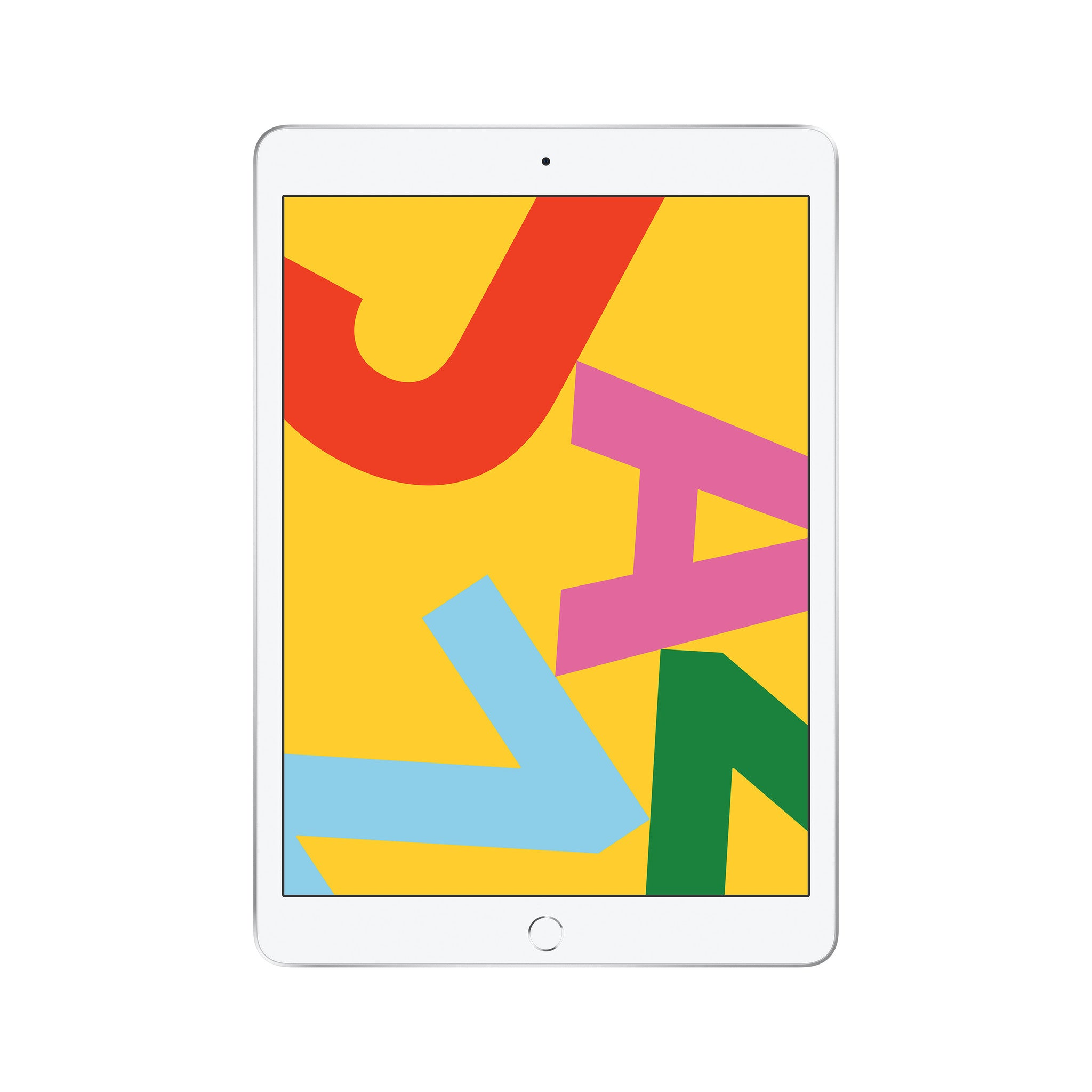Refurbished Apple iPad (2019) 32GB Wifi only-Silver-Als nieuw