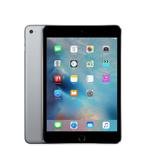 Refurbished Apple iPad Mini 4 32GB Wifi only-Space Grey-Licht gebruikt