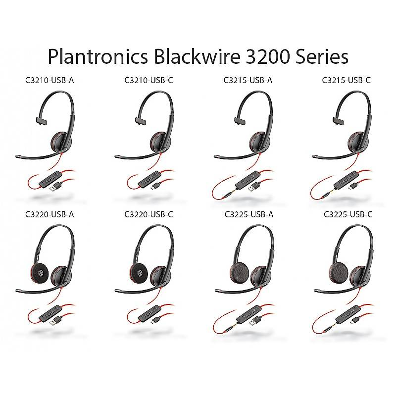 Plantronics Blackwire C3215 USB-A headset