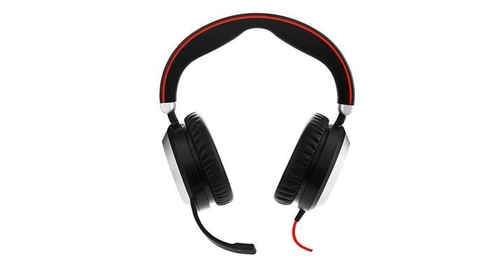 Jabra Evolve 80 UC Stereo headset met Active Noise Cancellation