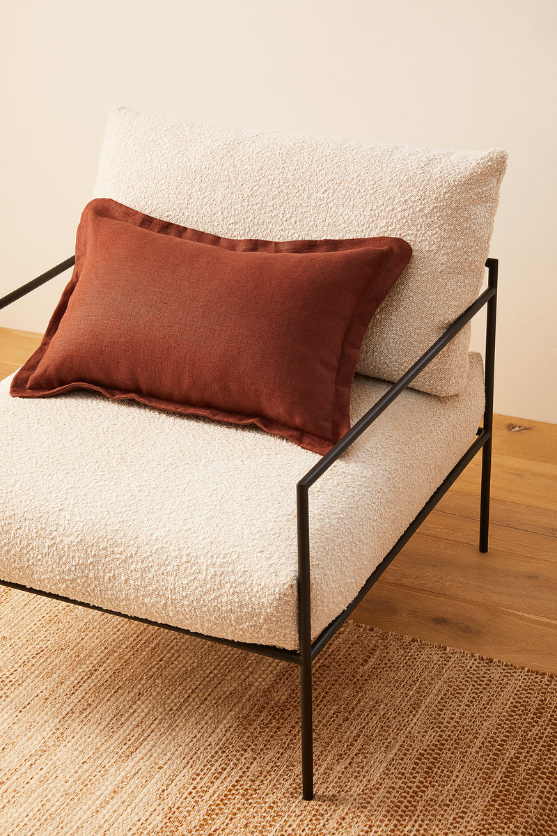 Lumbar Linen - Cinnamon (Cover Only)