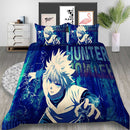Full-time Hunter Duvet Cover Set Cartoon Bed Set Bedlinen Set for Child Bedroom