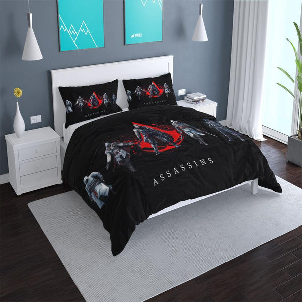 3d Customize Assassin's Creed Duvet Cover Set Bed Set Comforter Set-Assassin's Creed Duvet Cover Set