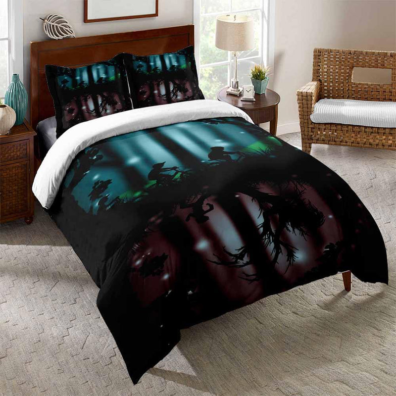 3D Customize Comforter Stranger Things Bedding Set Bed Covers-Stranger Things Bed set-simphouse