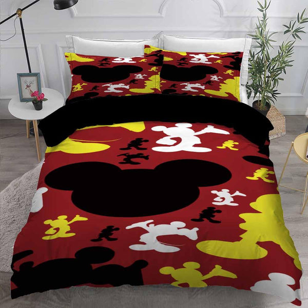 Comforter Mickey Mouse Bedding Set 3D Customize Bed Set-Stranger Things Bed set-simphouse