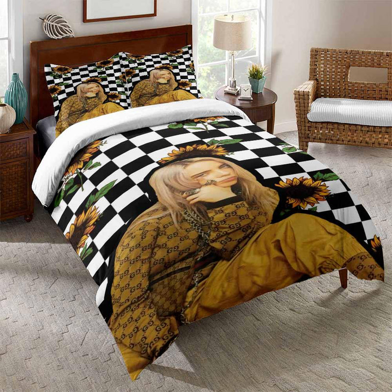 3D Customize Billie Bedding Set Billie Duvet Cover Set Comforter Bedroom Decor-Billie Bed set-simphouse