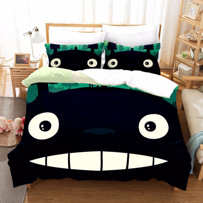 Totoro Comforter Duvet Sets Bedlinen Bedding Set Duvet Cover Set Bed Set