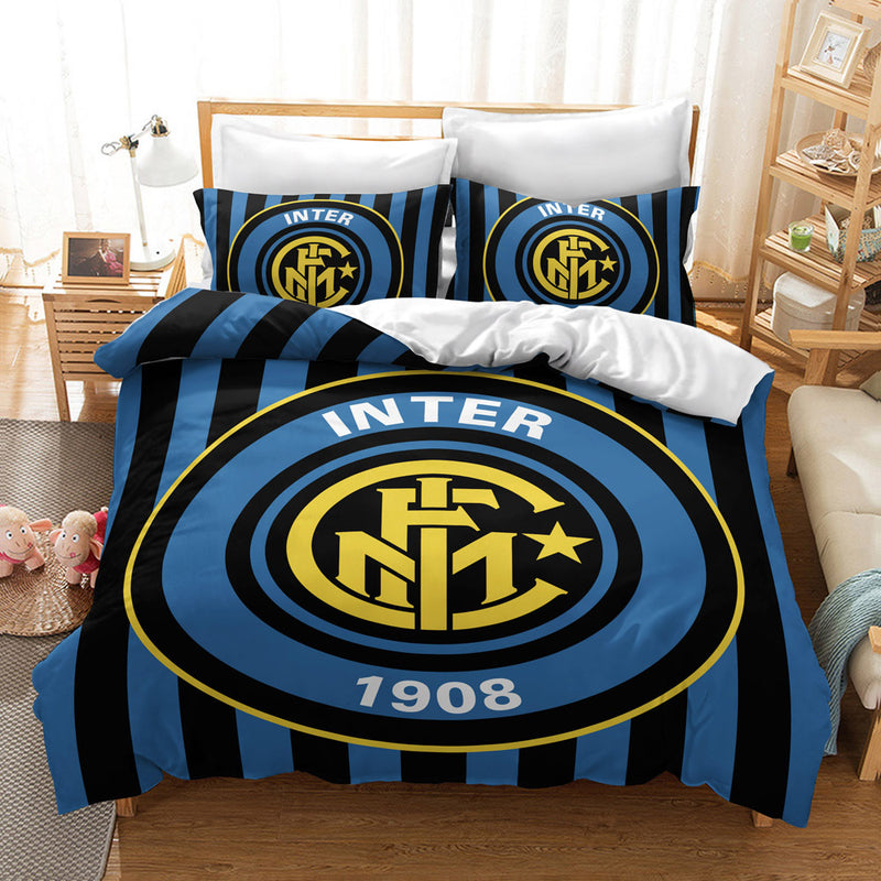 Football Team Duvet Cover Set Bedding Sets Bed Linen Quilt Cover Bed Set-Football Team Duvet Cover Set