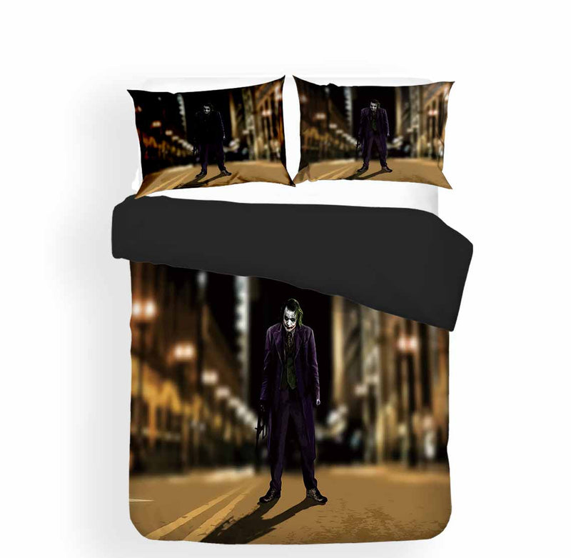 The Joker Bed Set Marvel Bedding 3d Customized Duvet Cover for Man Bedroom