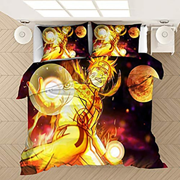 Naruto Bed Linen 3d Customize Bedding Sets Country Quilt Cover Comforter Sets Duvet Cover Set-Naruto Duvet Cover Set