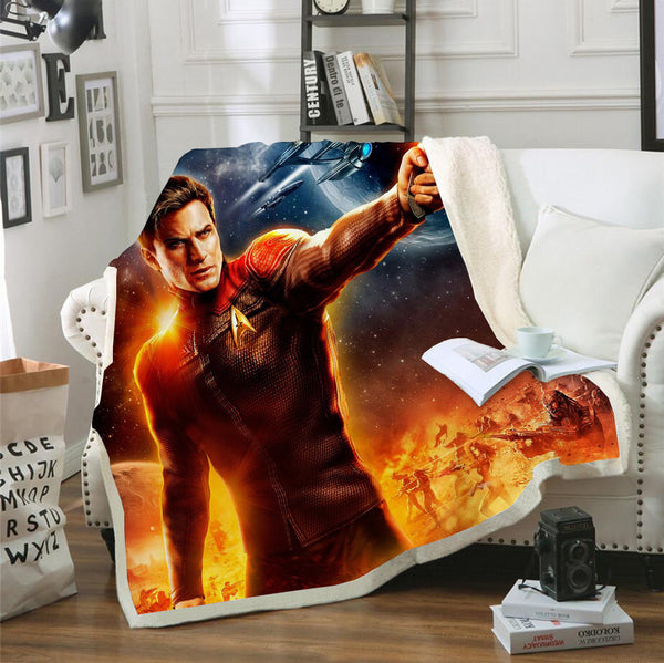 3D Printed Star Wars Blanket Bedding Marvel Blanket for Livingroom