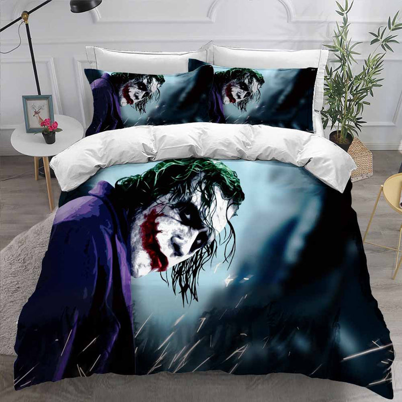 The Joker Bed Set Marvel Bedding 3d Customized Quilt Cover Bedroom