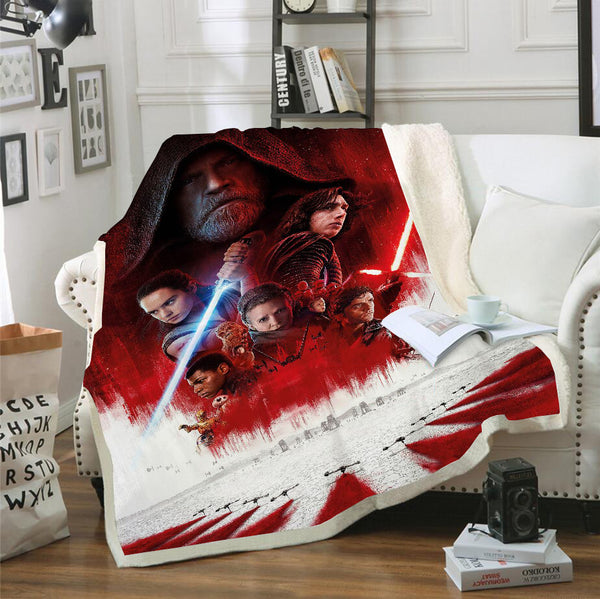 Star Wars Blanket 3D Customized Bedding Marvel Blanket Home Decor