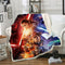 3D Customized Star Wars Blanket Bedding Marvel Blanket for Livingroom