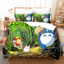 Totoro Bedding Sets Comforter Bedlinen Duvet Sets Duvet Cover Set Bedding Bed Set