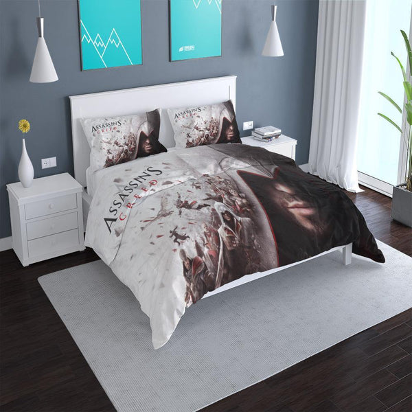 3d Customize Assassin's Creed Bed Set Comforter Set Duvet Cover Set-Assassin's Creed Duvet Cover Set