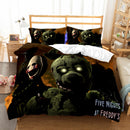 Five Nights At Freddy's Quilt Cover Bed Linen 3d Customize Comforter Sets Duvet Cover Set-Five Nights at Freddy's Duvet Cover Set