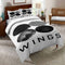 BTS Bantang Boys Bedding set Comforter Cover King Quilt Duvet Cover Sheet Twins Queen-BTS Bed set-simphouse
