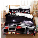 Luxury car Duvet Cover Set Bedding Set Comforter bedline Sets Girls Boys Children-Luxury car Duvet Cover Set