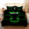 DJ deadmau5 Bedding Bed Set DJ Black Duvet Cover Set Bedlinen