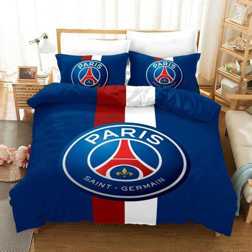 Football Team Bedding Sets Bed Linen Kids Bed Set Duvet Cover Set Quilt Cover-Football Team Duvet Cover Set