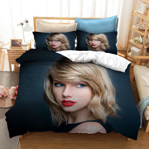 Taylor Swift Bed Set customize Bedding Set comforter set Duvet Cover Set-Taylor swift Bed set-simphouse