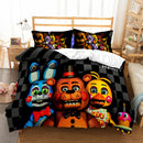 Five Nights At Freddy's Duvet Cover Set Quilt Cover 3d Customize Comforter Sets Bed Linen-Five Nights at Freddy's Duvet Cover Set