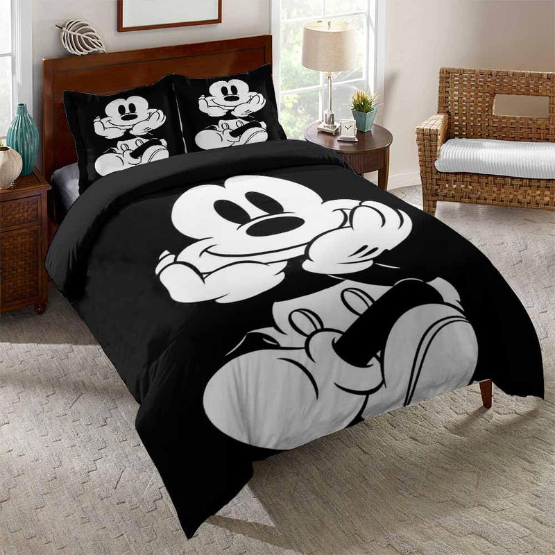 Comforter Mickey Mouse Bedding Set 3D Customize Bed Set-Mickey Mouse Bed set-simphouse