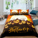 Halloween Bedding Home Decor Comforter Bed Set for Kids Duvet Cover-Halloween Bedding-simphouse