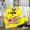 SpongeBob Square Pants Blanket Bedding Blanket Bedroom