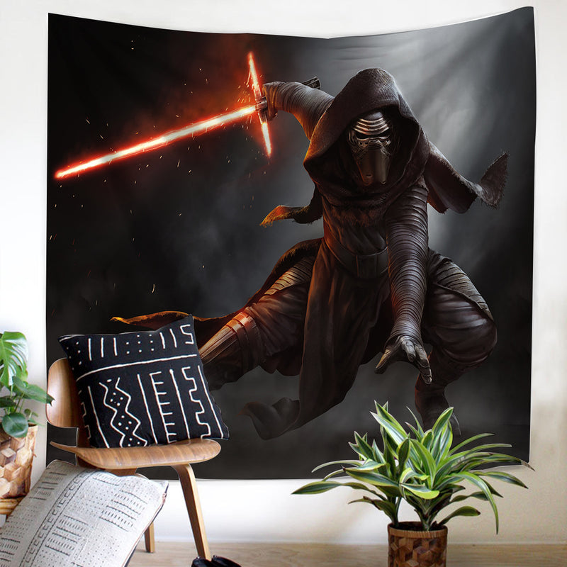3D Printed Star Wars Tapestry Living Room Wall Hanging Background Cloth-Star Wars Tapestry-simphouse