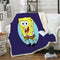SpongeBob Square Pants Blanket Bedding Blanket