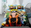 3d Customize Naruto Quilt Cover Bedding Sets Bed Linen Comforter Sets Duvet Cover Set-Naruto Duvet Cover Set
