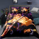 3d Printed Demon Slayer Cartoon Bed Cover Duvet Cover Set Comforter Bed Linen-Demon Slayer Duvet Cover Set