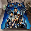 3D Customize Bedding Set Black Panther Comforter Duvet Cover Set for Bedroom-Pink Panter Bed set-simphouse